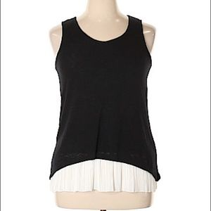 Anthropologie W5 Concepts | Sleeveless Pleat Top